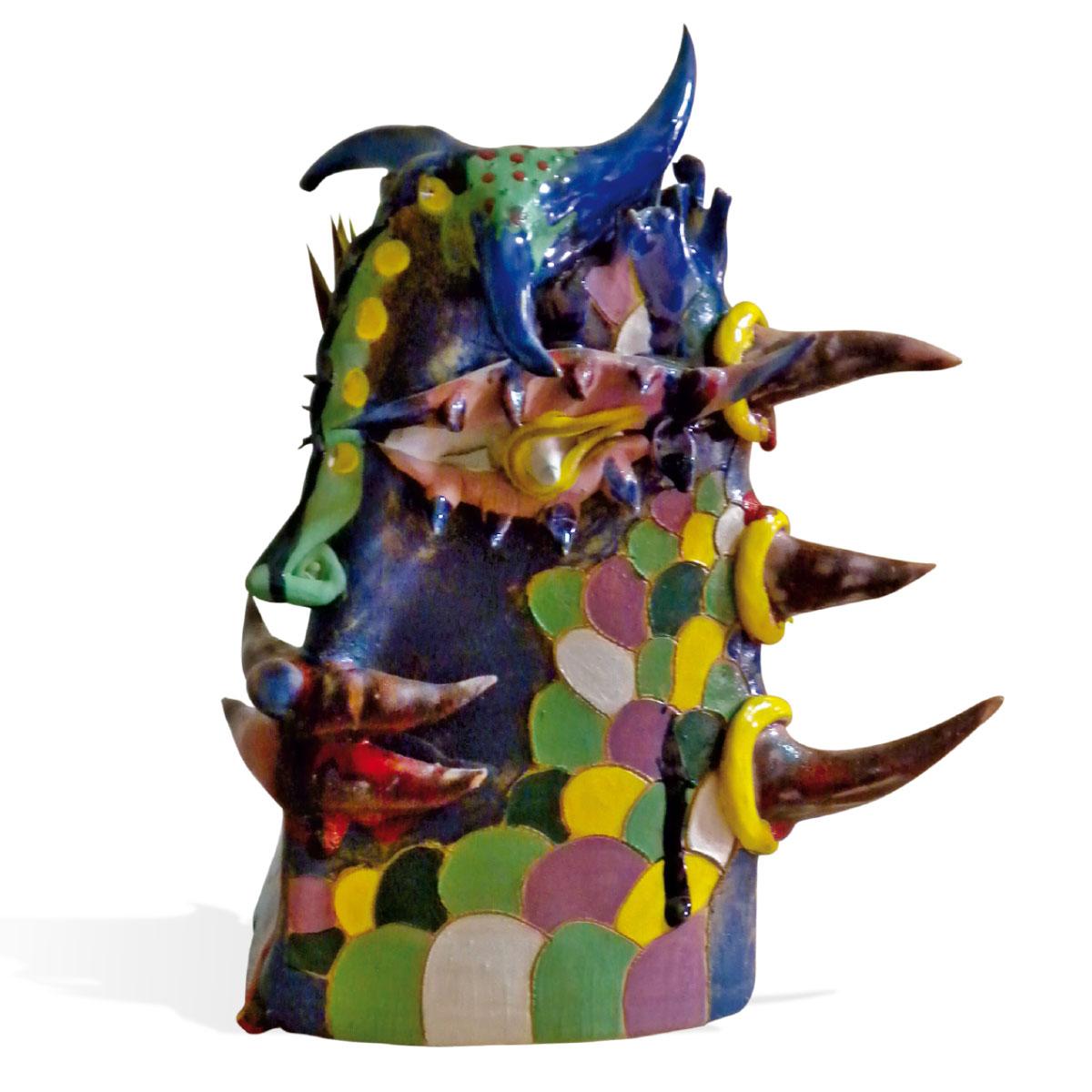 L'opera dell'artista Paolo Anselmo acquisita dal Museo a cielo aperto di Denice, dedicato alla ceramica contemporanea
