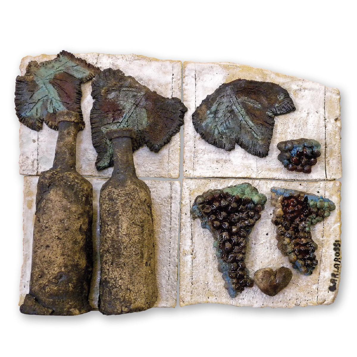 L'opera dell'artista Carla Rossi acquisita dal Museo a cielo aperto di Denice, dedicato alla ceramica contemporanea
