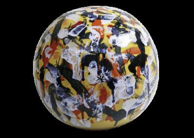 <i>Meteora</i>, 2011, ceramica smaltata