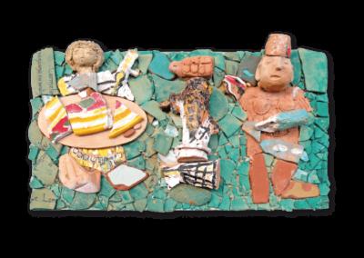 <i>Figure</i>, 2012, assemblaggi di terracotta