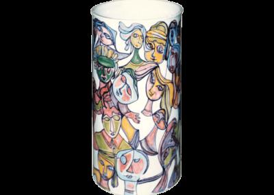 <i>Vaso-portaombrelli</i>, 1993, ceramica smaltata