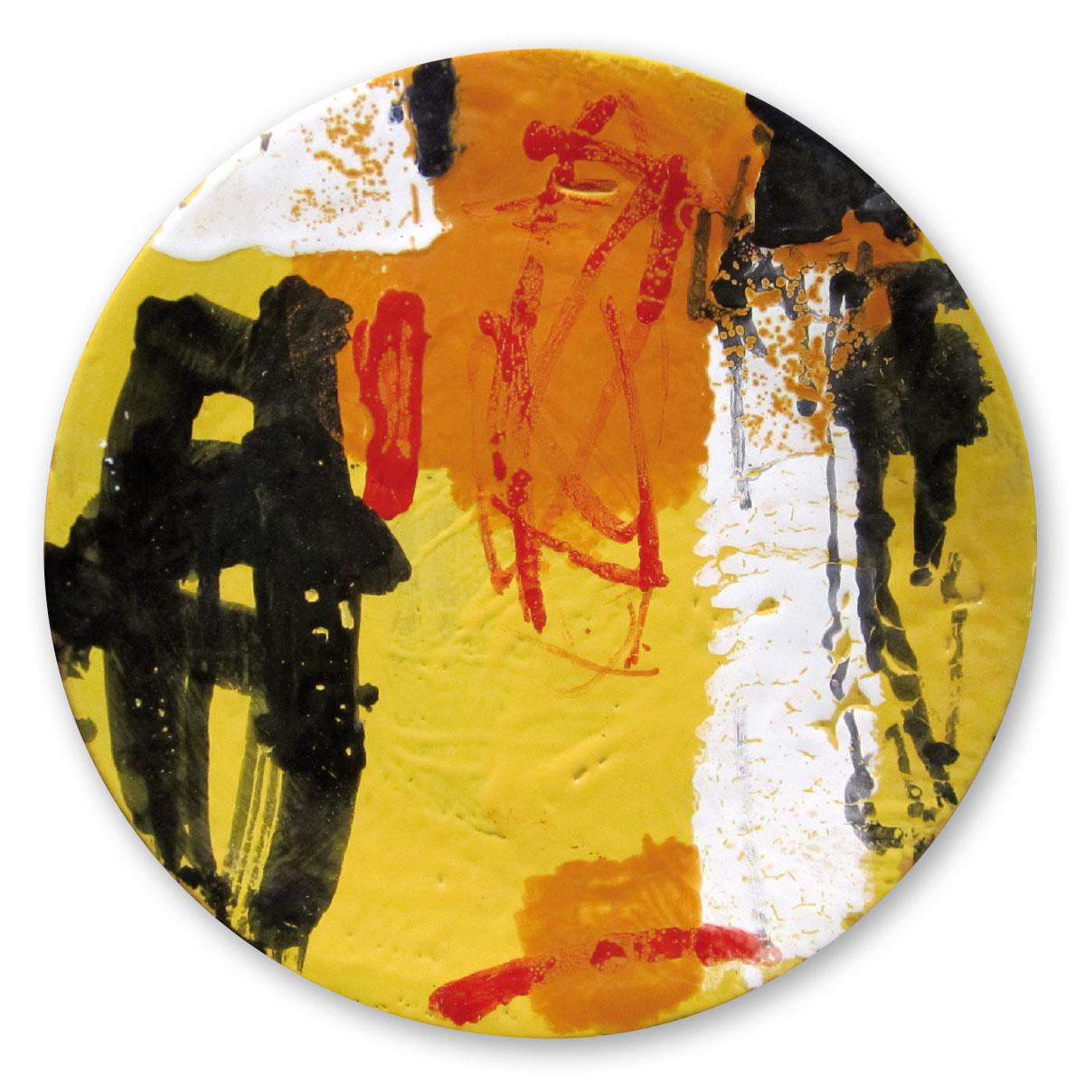 L'opera dell'artista Enzo Esposito acquisita dal Museo a cielo aperto di Denice, dedicato alla ceramica contemporanea
