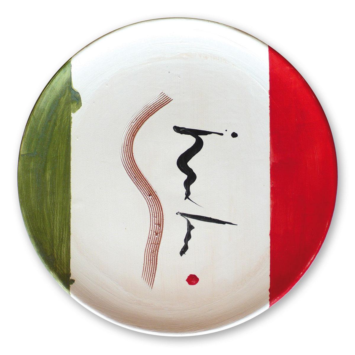 L'opera dell'artista Eugenio Lanfranco acquisita dal Museo a cielo aperto di Denice, dedicato alla ceramica contemporanea