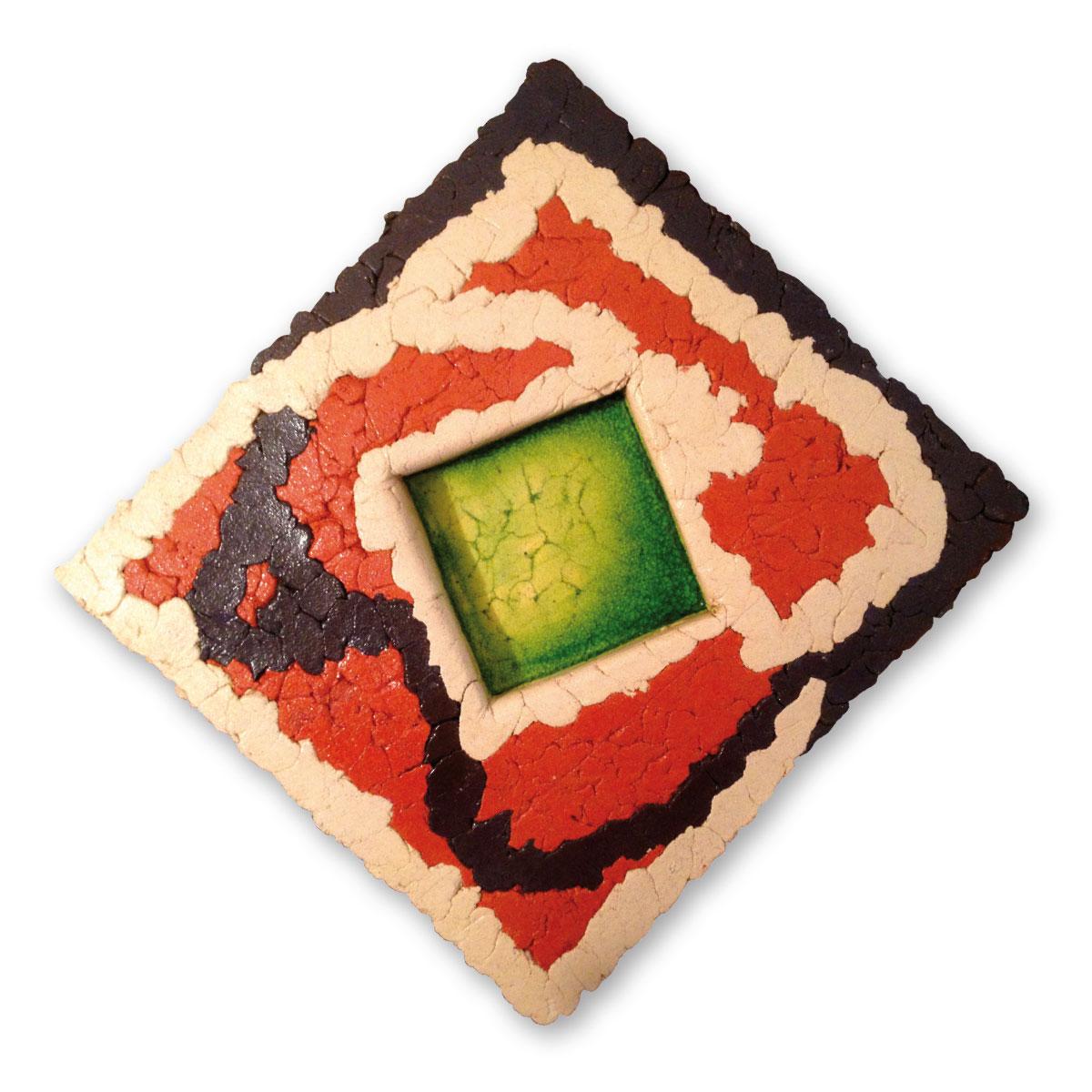 L'opera dell'artista Gianni Piccazzo acquisita dal Museo a cielo aperto di Denice, dedicato alla ceramica contemporanea