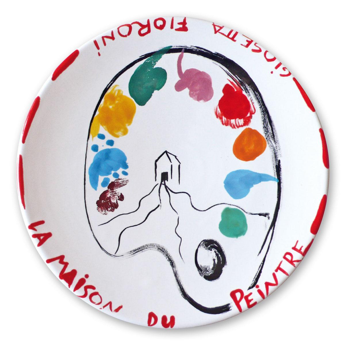 L'opera dell'artista Giosetta Fioroni acquisita dal Museo a cielo aperto di Denice, dedicato alla ceramica contemporanea