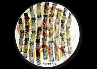 <i>Correnti</i>, 1992, ceramica smaltata