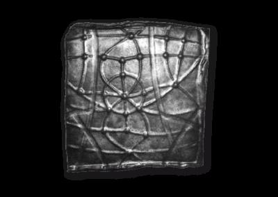 <i>Piastra grigia</i>, 2006, ceramica smaltata