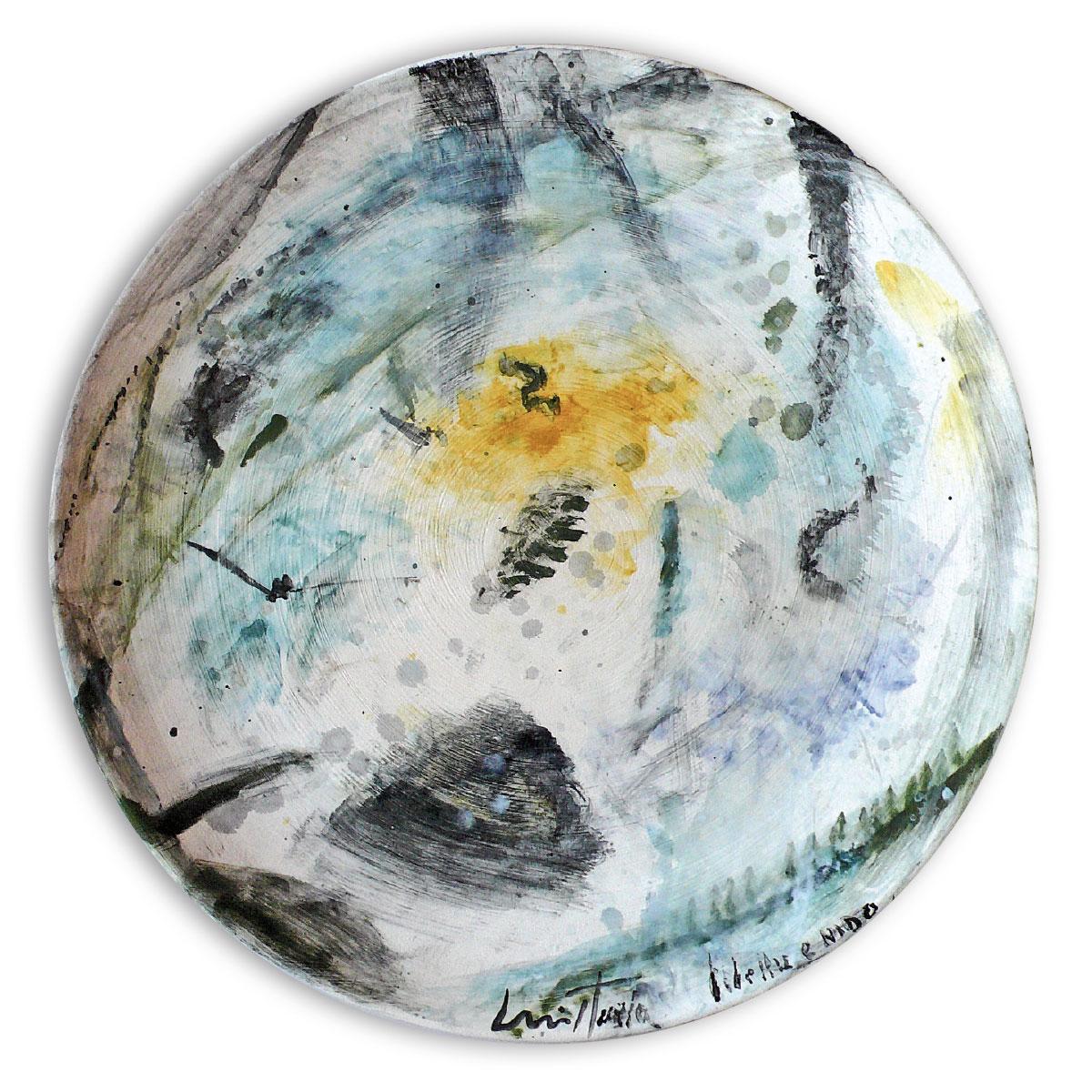 L'opera dell'artista Luiso Sturla acquisita dal Museo a cielo aperto di Denice, dedicato alla ceramica contemporanea