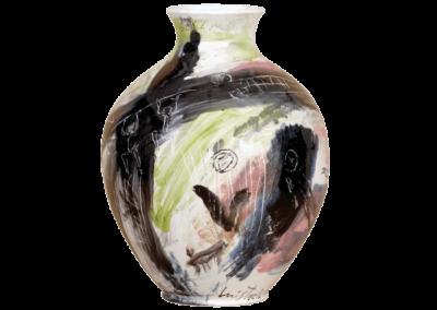 <i>Vaso</i>, 2007, terracotta smaltata