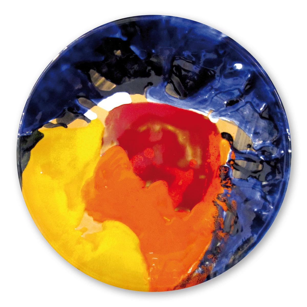 L'opera dell'artista Nes Lerpa acquisita dal Museo a cielo aperto di Denice, dedicato alla ceramica contemporanea