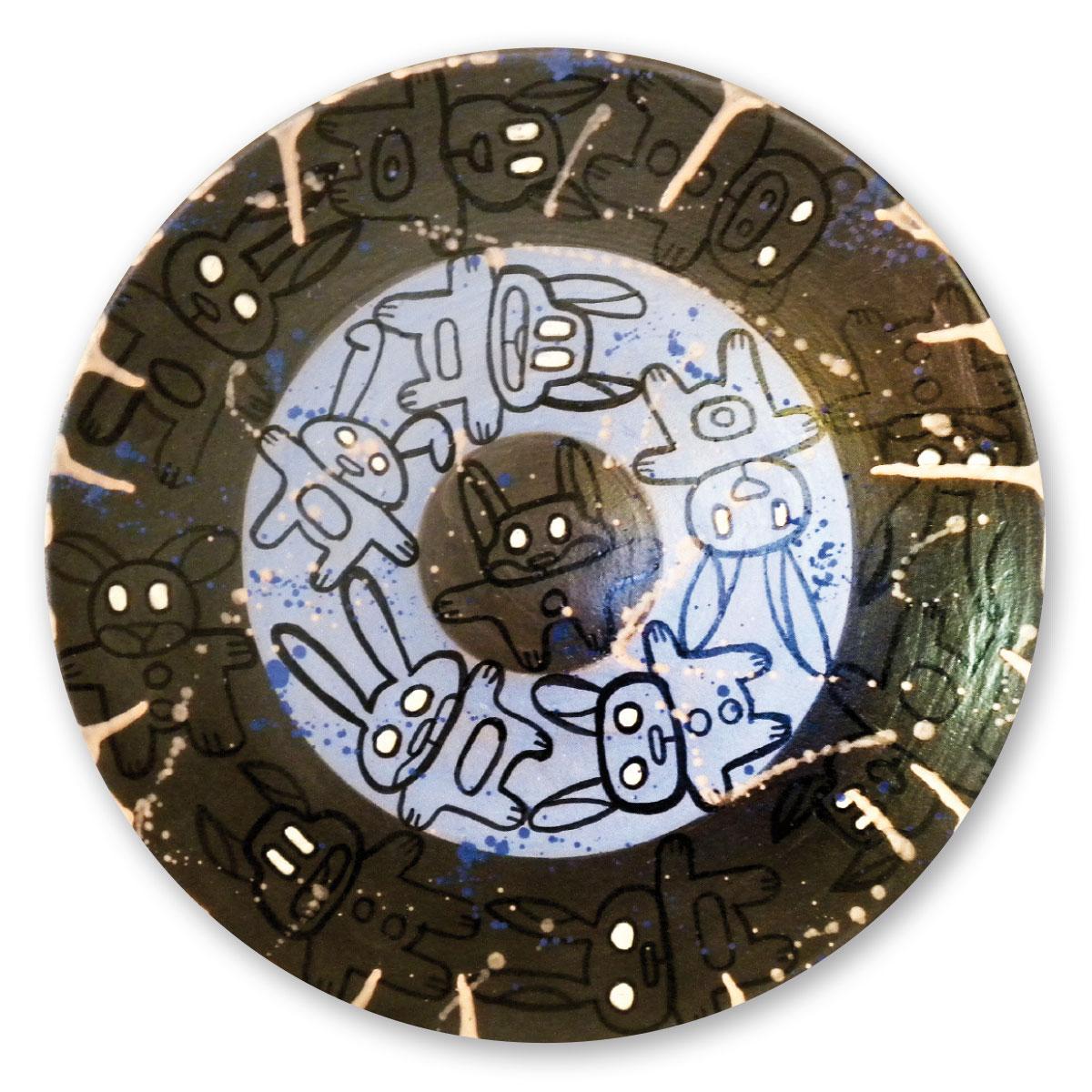 L'opera dell'artista Pablo Echaurren acquisita dal Museo a cielo aperto di Denice, dedicato alla ceramica contemporanea