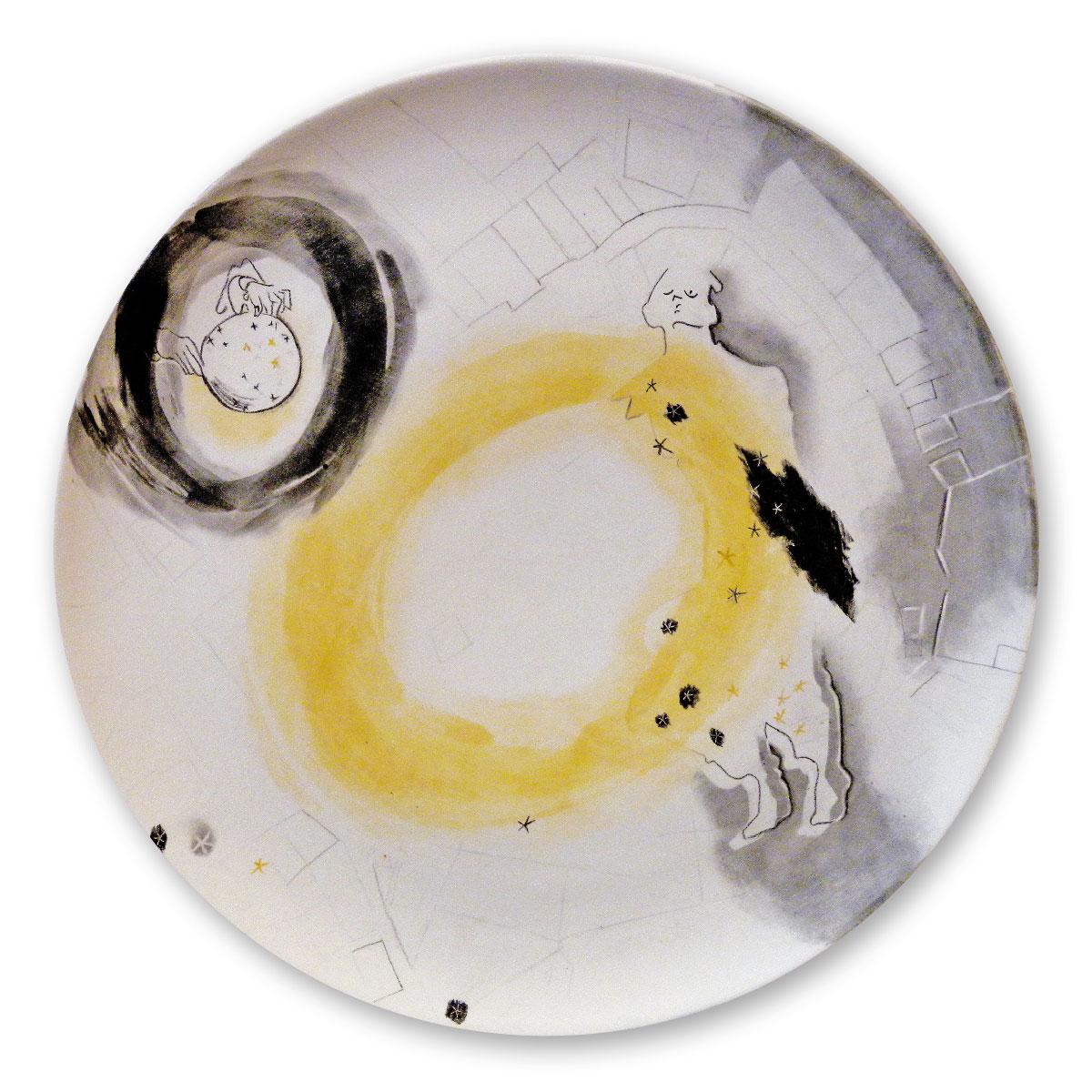 L'opera dell'artista Rebecca Forster acquisita dal Museo a cielo aperto di Denice, dedicato alla ceramica contemporanea