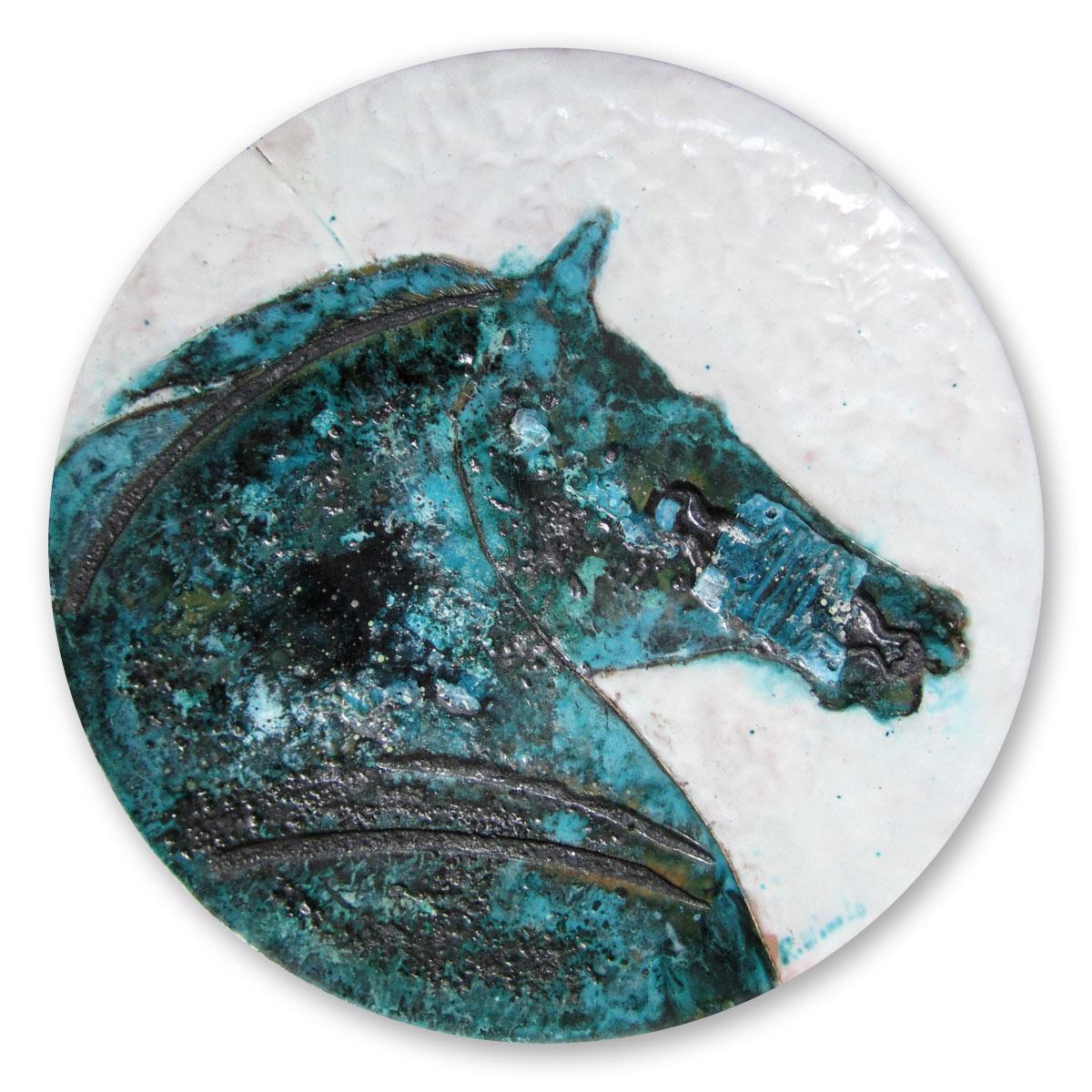 L'opera dell'artista Renata Minuto acquisita dal Museo a cielo aperto di Denice, dedicato alla ceramica contemporanea