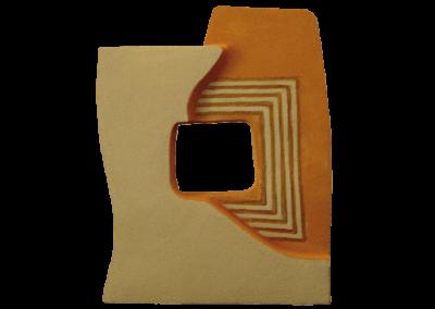 <i>Scatola</i>, 2006, ceramica, cera