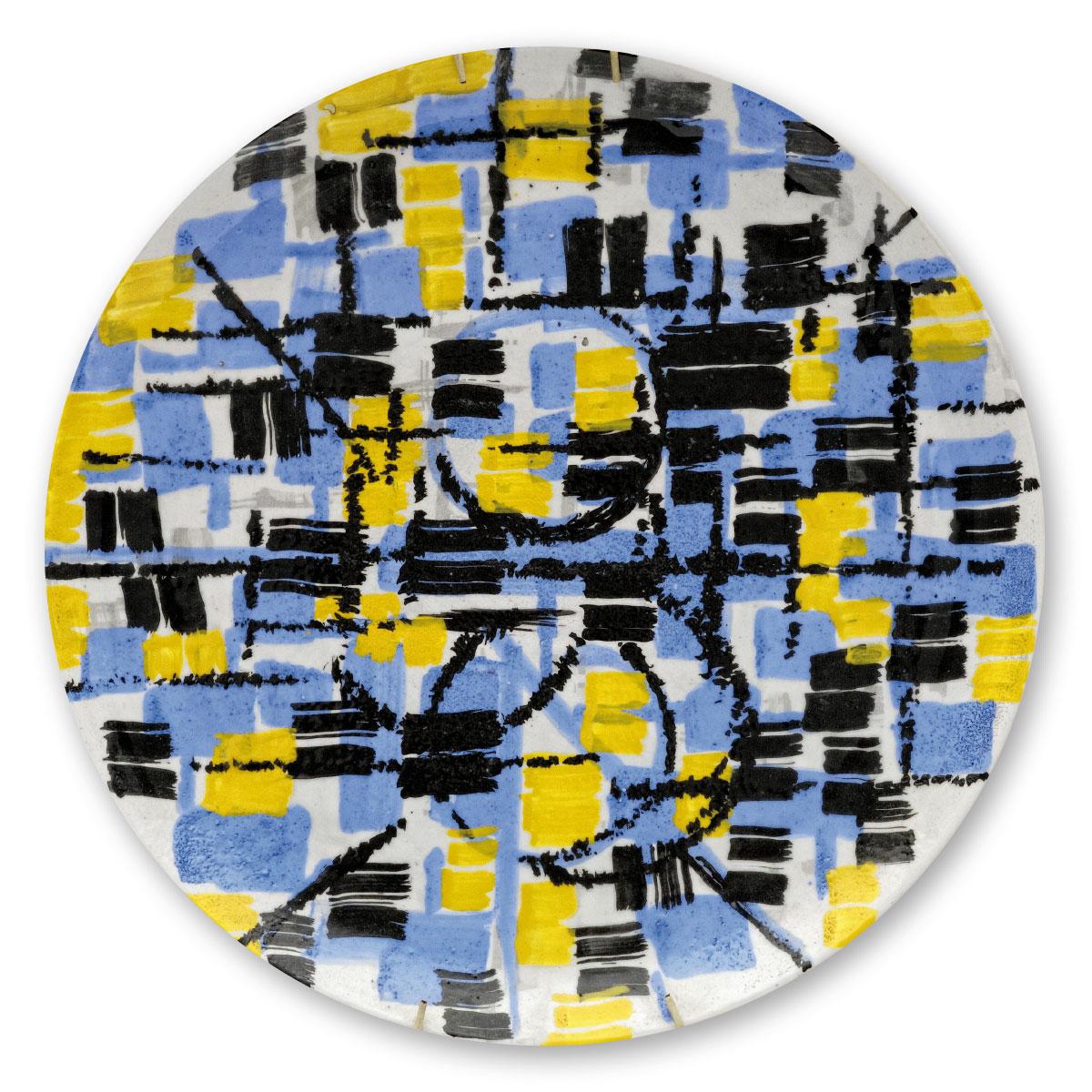L'opera dell'artista Rocco Borella acquisita dal Museo a cielo aperto di Denice, dedicato alla ceramica contemporanea