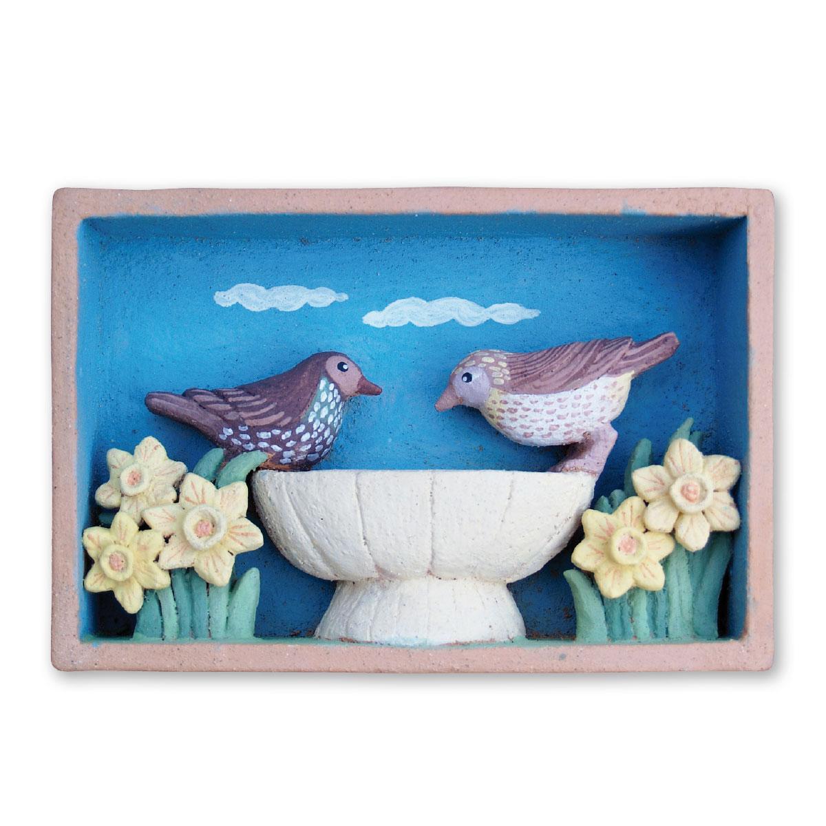 L'opera dell'artista Sara Catenelli acquisita dal Museo a cielo aperto di Denice, dedicato alla ceramica contemporanea