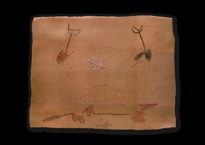 <i>Ombre</i>, 1993, ceramica a ingobbio