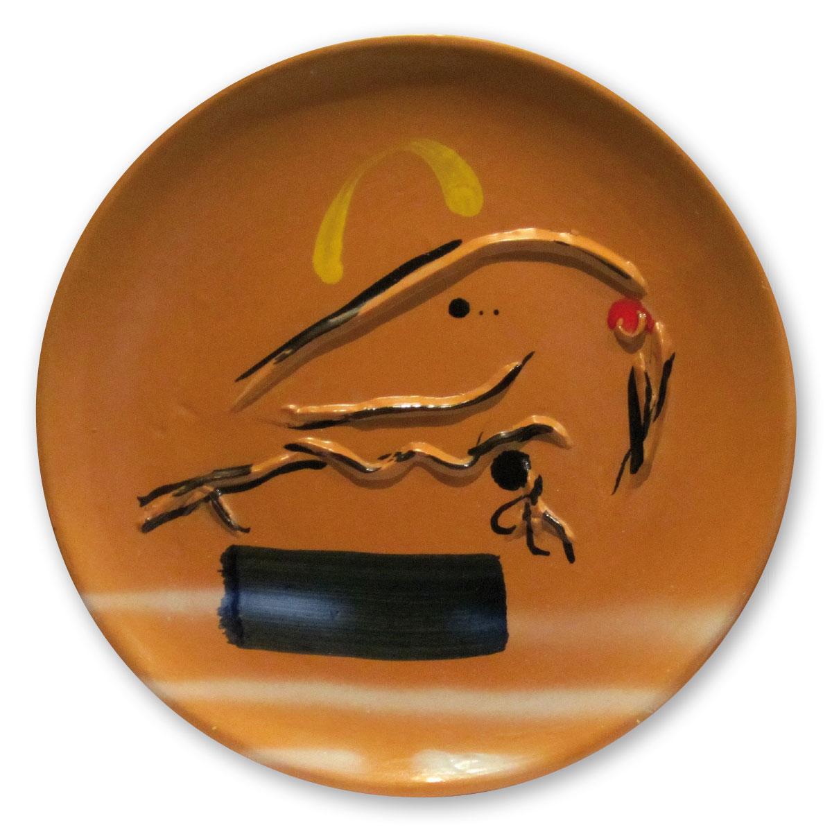 L'opera dell'artista Sergio Dangelo acquisita dal Museo a cielo aperto di Denice, dedicato alla ceramica contemporanea