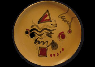 <i>Tondo</i>, 1990, ceramica smaltata