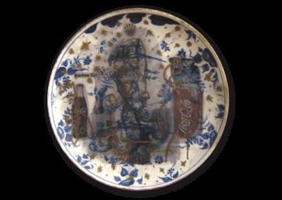 <i>Natività</i>, 2006, ceramica smaltata
