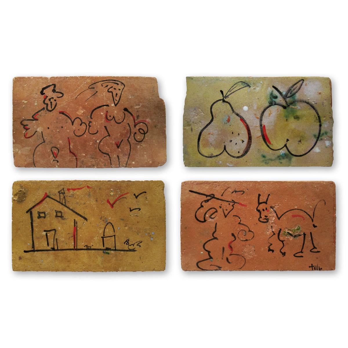 L'opera dell'artista Tullio Mazzotti acquisita dal Museo a cielo aperto di Denice, dedicato alla ceramica contemporanea