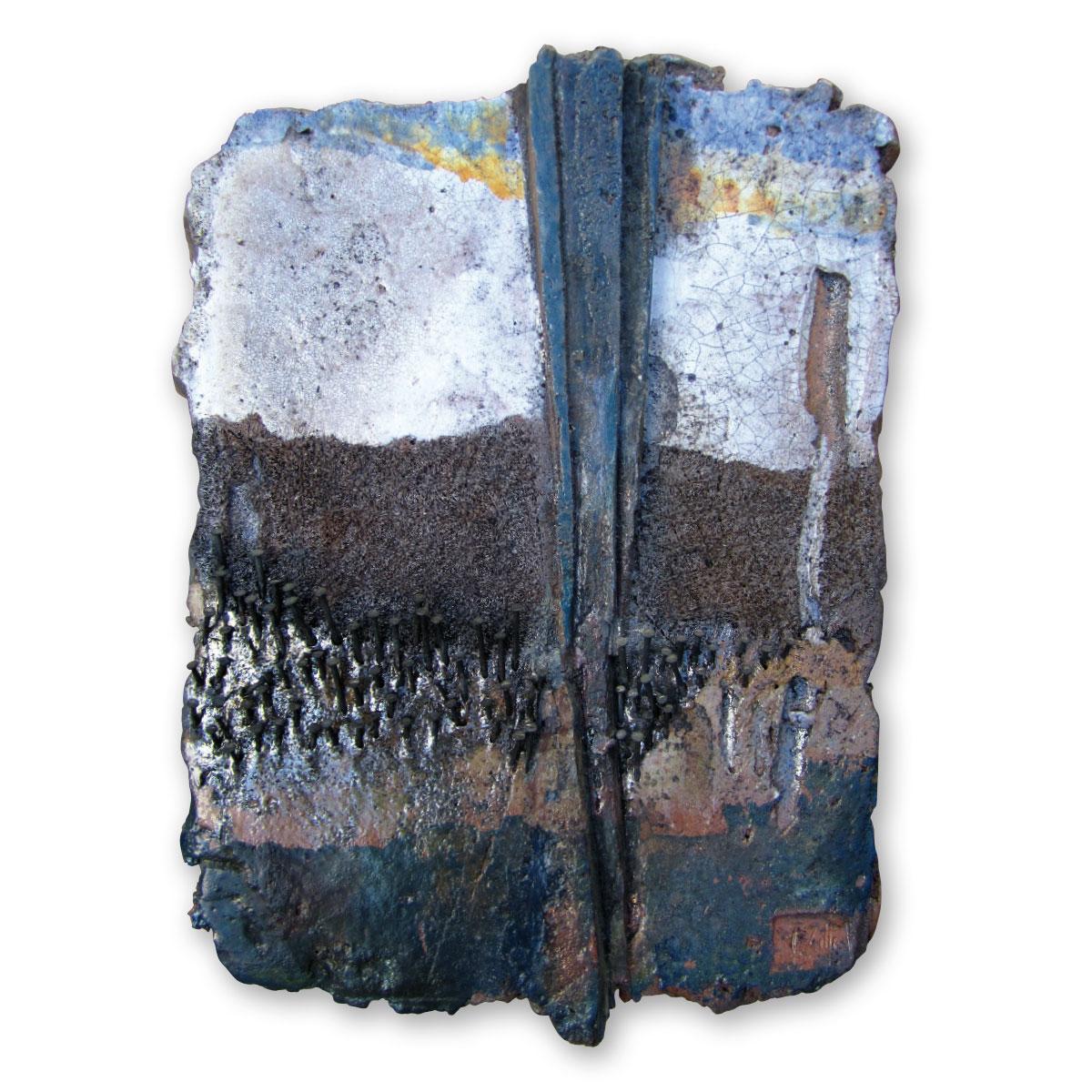 L'opera dell'artista Vittorio Zitti acquisita dal Museo a cielo aperto di Denice, dedicato alla ceramica contemporanea