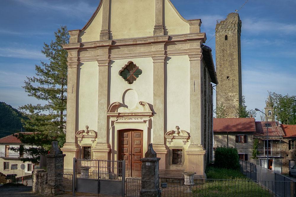 L'oratorio di San Sebastiano a Denice